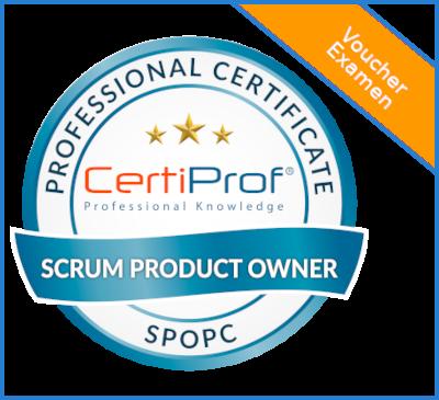 Voucher Examen – Scrum Product Owner Professional Certificate – (SPOPC)